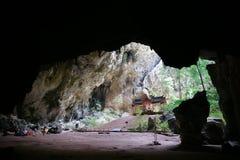 Caverne de Phraya Nakhon Photos libres de droits