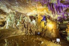 Caverne de PROMETHEUS, Kutaisi photos libres de droits