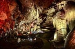 Caverne de PROMETHEUS, la Géorgie Photographie stock
