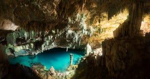 Caverne de Rangko en île de Flores, Labuan Bajo photos libres de droits