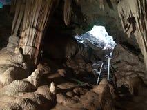 Caverne de Sai Photos libres de droits