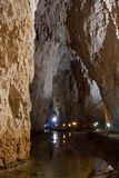Caverne de Stopica photographie stock libre de droits