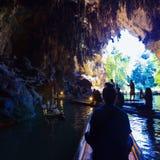 Caverne de Tham Lod images libres de droits