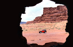 Caverne de vent Photographie stock libre de droits