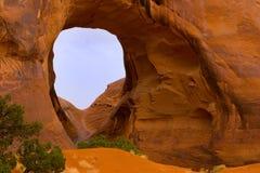 Caverne de vent en vallée de monument Photos libres de droits