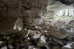 Caverne de Vorontsovskaya Image stock
