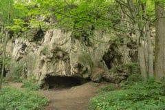 Caverne del calcare fotografia stock