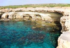 Caverne del mare Fotografie Stock Libere da Diritti