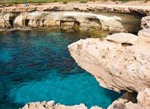 Caverne del mare Immagini Stock