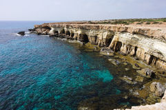 Caverne del mare Immagini Stock Libere da Diritti