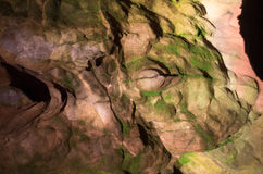 Caverne della gola del cheddar Fotografie Stock