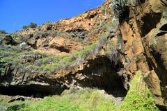 Caverne delle civilizzazioni antiche Fotografie Stock Libere da Diritti