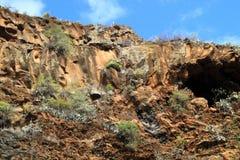 Caverne delle civilizzazioni antiche Fotografia Stock Libera da Diritti