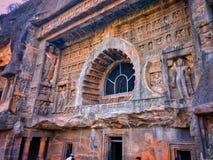 Caverne di Ajanta Immagini Stock Libere da Diritti