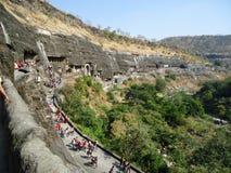 Caverne di Ajanta Fotografia Stock Libera da Diritti