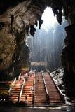Caverne di Batu Fotografie Stock Libere da Diritti