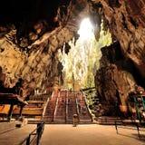 Caverne di Batu immagini stock libere da diritti