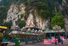 Caverne di Batu Kuala Lumpur, Malesia Fotografia Stock
