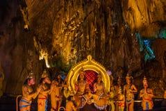 Caverne di Batu Kuala Lumpur, Malesia Immagine Stock