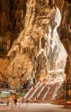 Caverne di Batu in Malesia Fotografia Stock Libera da Diritti