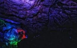 Caverne di Bora fotografia stock