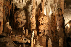Caverne di Cango Fotografia Stock Libera da Diritti