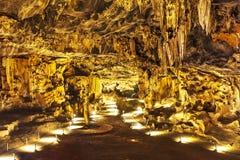 Caverne di Cango, Sudafrica Immagine Stock
