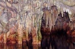 Caverne di Diros - Mani Immagini Stock Libere da Diritti