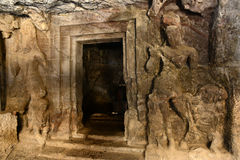 Caverne di Elephanta Immagini Stock Libere da Diritti