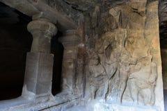 Caverne di Elephanta Immagine Stock Libera da Diritti