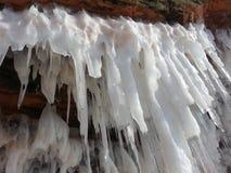 Caverne di ghiaccio Immagini Stock Libere da Diritti