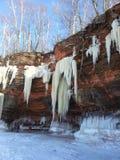 Caverne di ghiaccio Immagini Stock