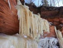 Caverne di ghiaccio Fotografie Stock Libere da Diritti