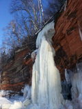 Caverne di ghiaccio Fotografia Stock
