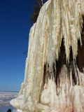 Caverne di ghiaccio sul lago Superiore Fotografia Stock Libera da Diritti
