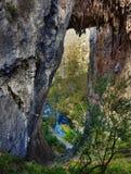 Caverne di Jenolan Fotografia Stock