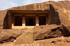 Caverne di Kanheri immagine stock