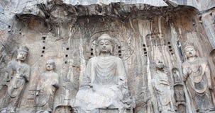 Caverne di Longmen immagine stock
