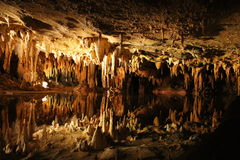 Caverne di Luray Fotografia Stock