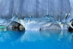 Caverne di marmo. Immagini Stock Libere da Diritti
