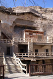 Caverne di Mogao Fotografia Stock Libera da Diritti