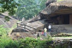 Caverne di Mumbai Fotografie Stock Libere da Diritti