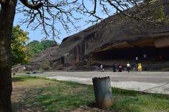 Caverne di Mumbai Immagini Stock Libere da Diritti