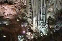 Caverne di Nerja Fotografia Stock