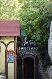 Caverne di paese delle fate ai giardini della città della roccia a Chattanooga, Tennessee Fotografia Stock