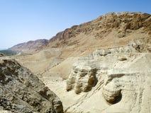 Caverne di Qumran Fotografia Stock Libera da Diritti