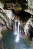 Caverne di Skocjan fotografie stock