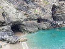 Caverne di Tintagel Fotografia Stock