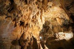 Caverne di Toirano fotografie stock