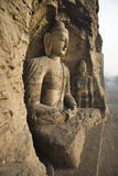 Caverne di Yungang Immagine Stock Libera da Diritti